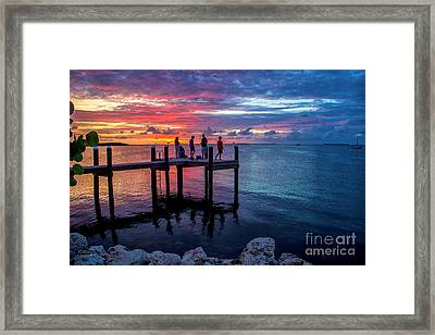 The Florida Keys- The Island Of Love Framed Print by Rene Triay Photography
