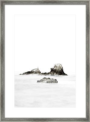 Island Girl Framed Print by Sean Foster
