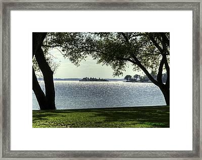 Island Home Framed Print