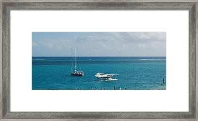 Island Hopping Framed Print by Christopher James