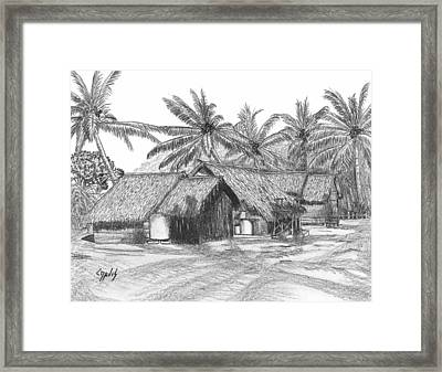 Island House 13 Framed Print