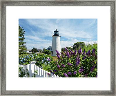 Island Light Framed Print