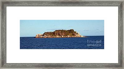 Island Lighthouse Australia Framed Print by John Potts