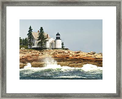 Island Lighthouse Framed Print