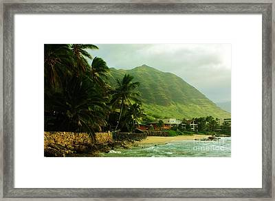 Island Living Framed Print
