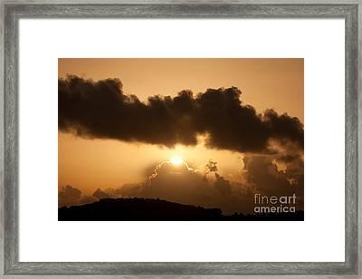 Island Morning Light Framed Print