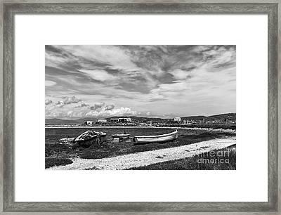 Island Of Delos Mono Framed Print by John Rizzuto