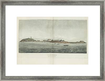 Island Of Goree Framed Print by British Library