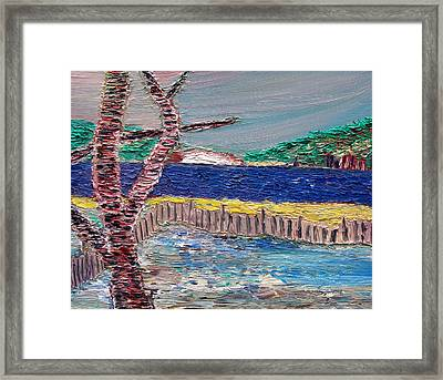 Island Of Hope Framed Print