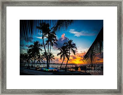 Island Of Leisure Framed Print by Rene Triay Photography