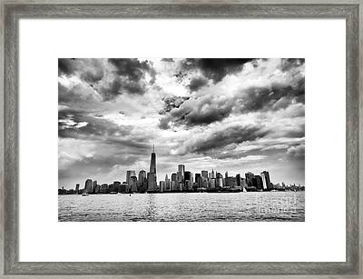 Island Of Manhattan 2013 Framed Print by John Rizzuto