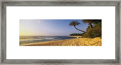 Island Of Oahu, Hawaii Framed Print by Joseph Sohm, ChromoSohm Media Inc.