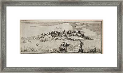 Island Of Olinda Off The Coast Of Brazil Framed Print by British Library
