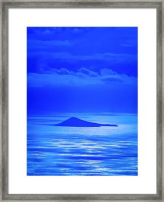Island Of Yesterday Framed Print
