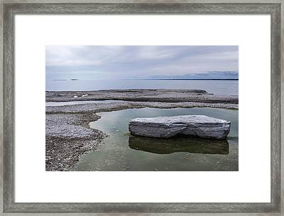 Framed Print featuring the photograph Island On Island by Arkady Kunysz
