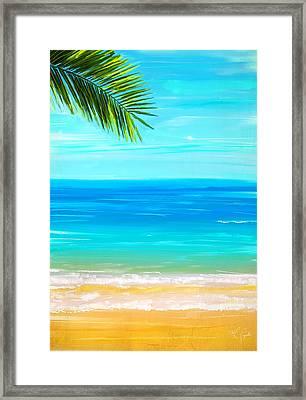Island Paradise Framed Print