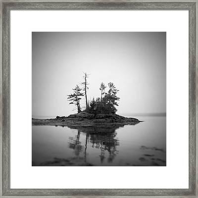 Island Framed Print by Patrick Downey
