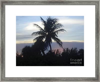 Island Sunset Framed Print by Megan Dirsa-DuBois