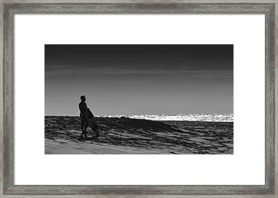 Island Surfer  Framed Print