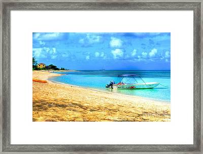 Island Time Framed Print by Debbi Granruth