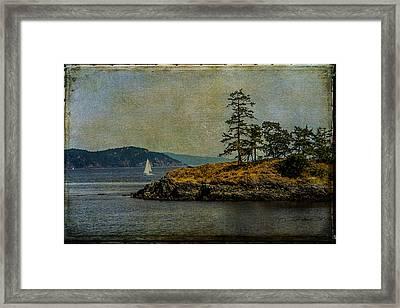 Island Time Framed Print