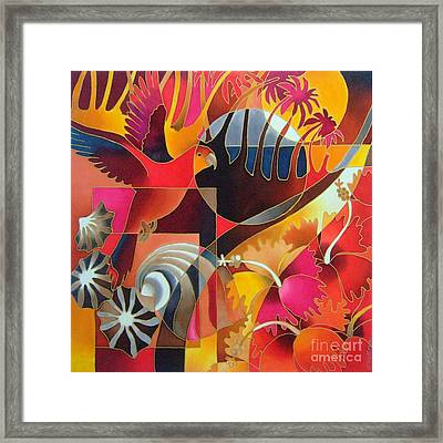 Island Treasures II Framed Print