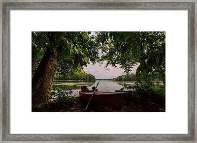 Island View Framed Print by Everet Regal