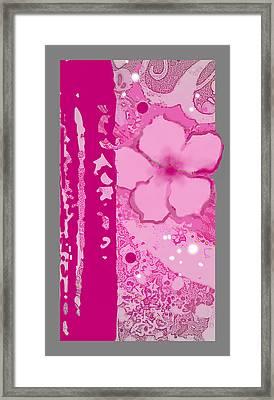 Islander Plumeria Framed Print by Wendy Wiese