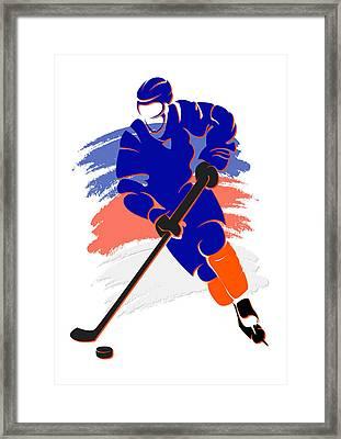 Islanders Shadow Player2 Framed Print