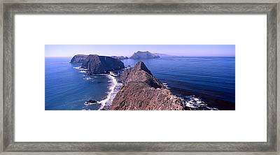 Islands In The Ocean, Anacapa Island Framed Print by Panoramic Images