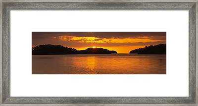 Islands In The Sea, Everglades National Framed Print by Panoramic Images