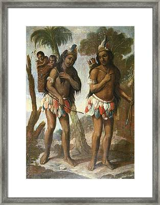 Islas, Andr�s De 18th C.. Barbarian Framed Print by Everett