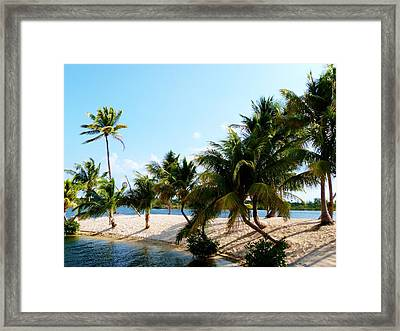 Framed Print featuring the photograph Isle @ Camana Bay by Amar Sheow