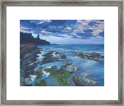 Isle Coast Framed Print