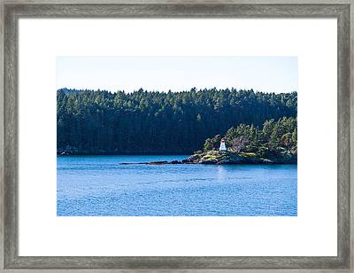Isle In Strait Of Georgia Framed Print