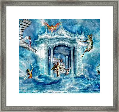 Isle Of Angels Framed Print by Amanda Struz