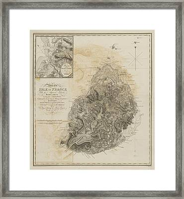 Isle Of France Framed Print by British Library