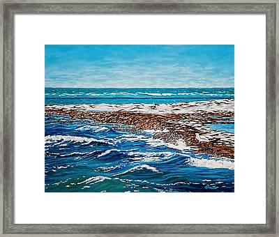 Isle Of Innocence Framed Print