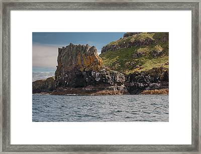 Framed Print featuring the photograph Isle Of Lunga by Sergey Simanovsky
