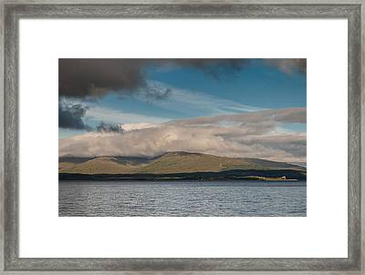 Framed Print featuring the photograph Isle Of Mull by Sergey Simanovsky