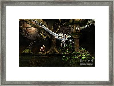Isle Of Sorrows Framed Print by Georgina Hannay