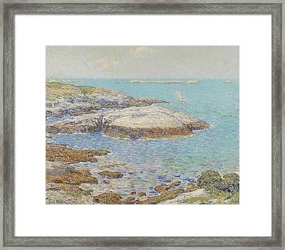 Isles Of Shoals Framed Print by Childe Hassam