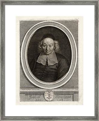 Ismail Bouillaud Framed Print by The Miriam And Ira D. Wallach Division Of Art, Prints And Photographs: Print Collection/new York Public Library