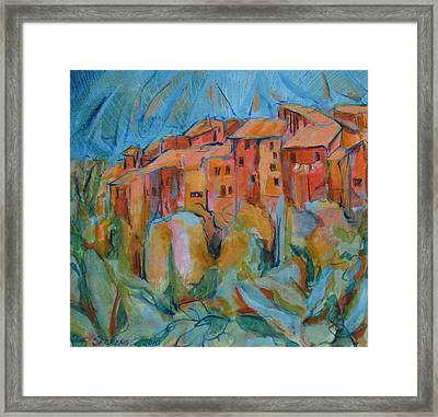 Isola Di Piante Small Italy Framed Print