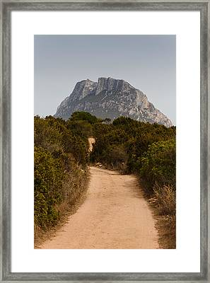 Isola Di Tavolara Framed Print by Paul Indigo