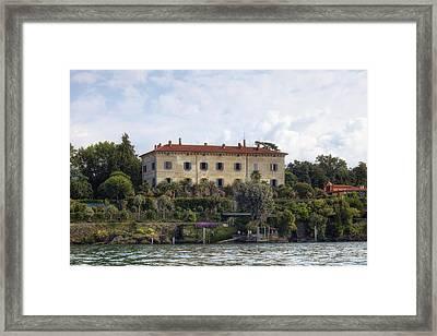 Isola Madre Framed Print