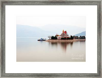 Isolated Framed Print by Ciprian Kis