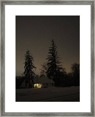 Isolated House Framed Print by Guy Ricketts