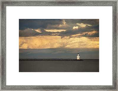 Isolated Framed Print by Jonathan Steele