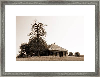 Framed Print featuring the photograph Isolated by Shirley Heier
